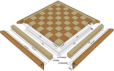 build  chessboard  family handyman