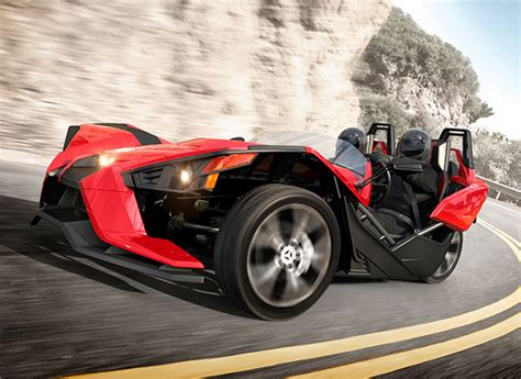 Radical Polaris Slingshot Is Part Car, Part Motorcycle