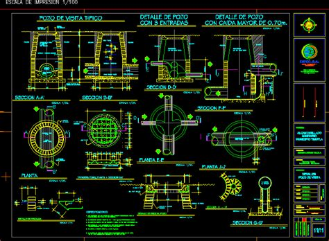 box auto dwg manholes dwg detail for autocad designs cad