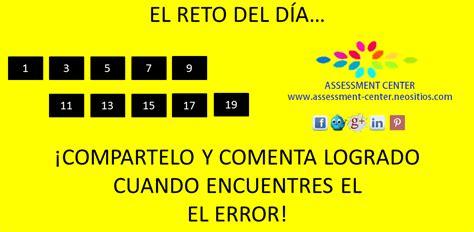 Retos mentales divertidos / retos matematicos desafios y. Reto del día, encuentra el error! #JuegosMentales #AssessmentCenter (con imágenes)   Juegos ...