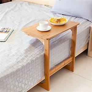 Laptop Tisch Sofa : homfa bambus laptoptisch f rs bett notebooktisch betttisch sofatisch laptopst nder ~ Orissabook.com Haus und Dekorationen