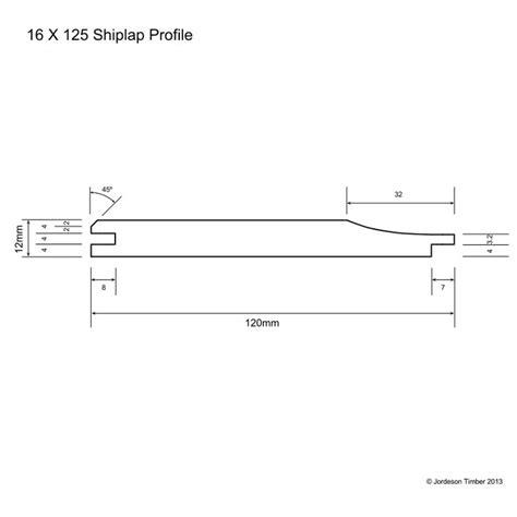 Shiplap Profile by Shiplap Profile Shiplap Profile