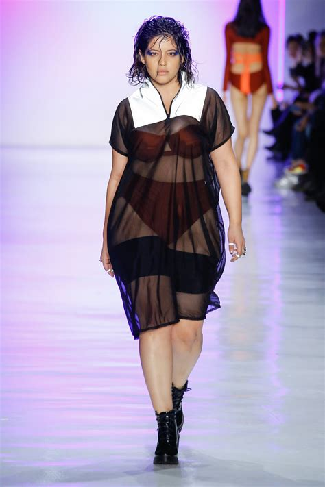 fashion model chromat fall 2017 runway show features a diverse cast of models stylish