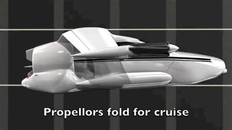 """To Start The Day … """"tfx Future Flying Car … Driven To"""
