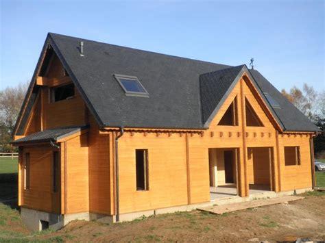 prix maison bois massif l habis
