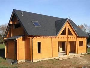Prix Kit Maison Bois : prix maison bois massif l 39 habis ~ Premium-room.com Idées de Décoration