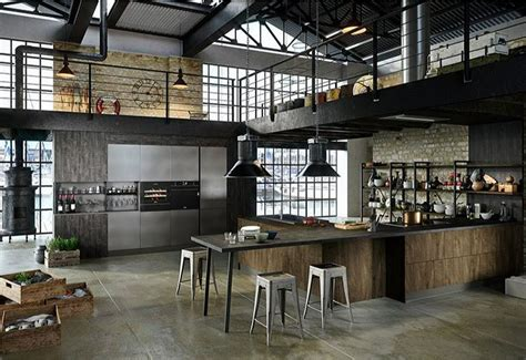 32 Industrial Style Kitchens That Will Make You Fall In Love : Cucine Industrial Style Rg74 » Regardsdefemmes