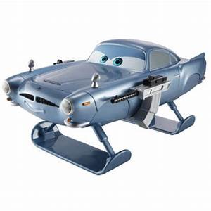 Cars 2: Oversized Die Cast Hydrofoil Finn Mcmissile Toys ...