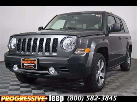 jeep patriot 2017 high altitude new 2017 jeep patriot high altitude sport utility in