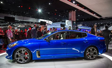 2018 Kia Stinger Sports Sedan Photos And Info  News Car