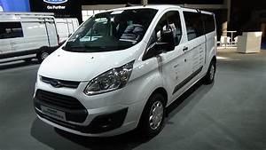 Minibus Ford : 2017 ford transit custom minibus ecoblue exterior and interior auto show brussels 2017 youtube ~ Gottalentnigeria.com Avis de Voitures