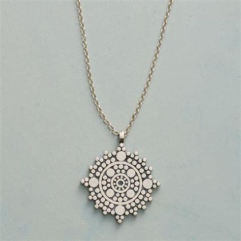 balance mandala necklace robert redfords sundance catalog