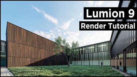 Lumion 9 Modern Architecture Rendering (best Tutorial