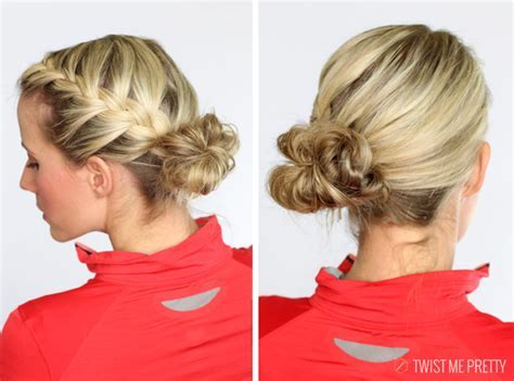 5 workout hairstyles   Twist Me Pretty