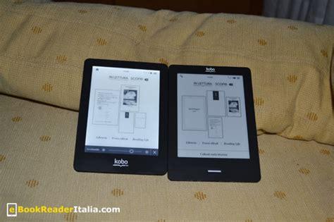 kobo touch illuminazione kobo glo l e ink illuminato secondo kobo ebookreader italia