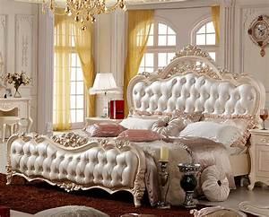 Queen Bett : moderne luxus k niglichen franz sisch stil k nig queen ~ Watch28wear.com Haus und Dekorationen