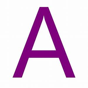 Free purple letter A icon - Download purple letter A icon