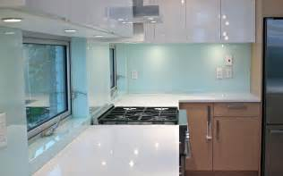 glass backsplash in kitchen solid glass kitchen backsplash production and installation