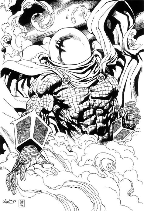 mysterio art  kevin west inks  mich art kevinwest