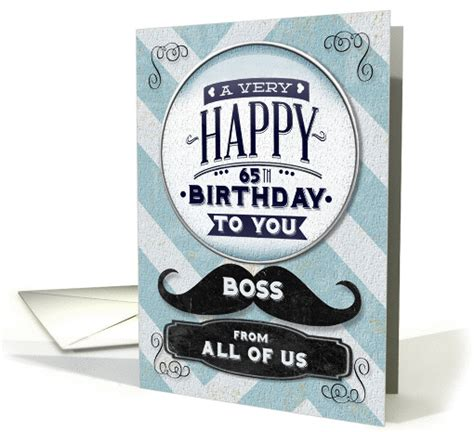 happy  birthday boss     vintage grunge