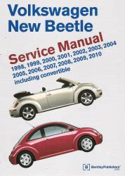car repair manuals online free 1998 volkswagen new beetle lane departure warning 1998 2010 volkswagen new beetle factory service manual