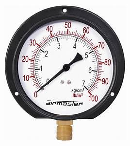 Airmaster Pressure Gauges  U00bb Bourdon Type Pressure Gauge
