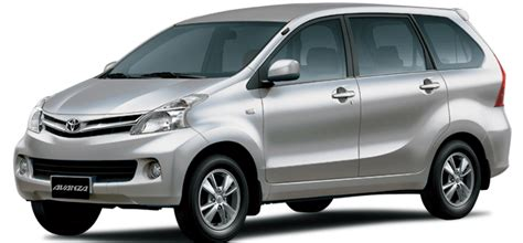 Car Rental Elizabeth South Africa by Rent A Toyota Avanza 7 Seater