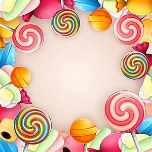 vector candy background image, Vector, Candy, Lollipop ...