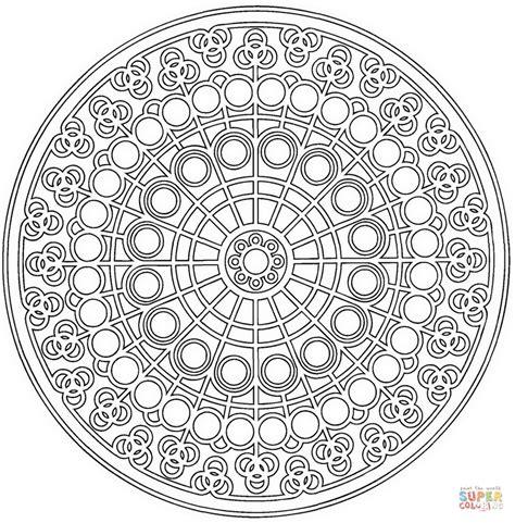 Mandalas Für Experten by Coloriage Mandala Celtique Avec Motif De Cercle