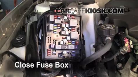 Chevy Ssr Fuse Box Location by Replace A Fuse 2006 2016 Chevrolet Impala 2008