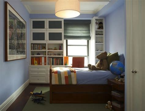 Kids Built In Cabinets-transitional-boy's Room-b
