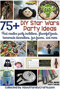 Star Wars Diy : 75 diy star wars party ideas about family crafts ~ Orissabook.com Haus und Dekorationen