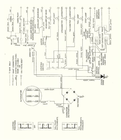 Wiring Diagram Triumph Tr25w by Terry Macdonald
