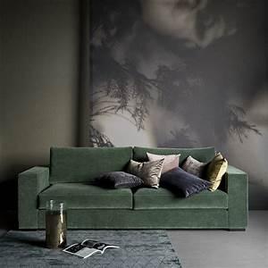 Canapé Velours Vert : le design danois de boconcept nous inspire marie claire ~ Teatrodelosmanantiales.com Idées de Décoration