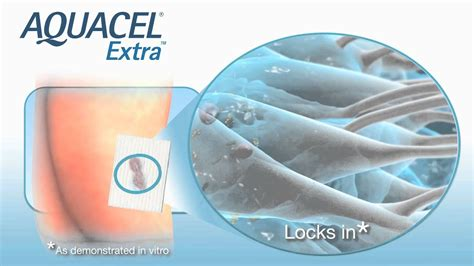 aquacel dressing wound extra ag care ostomy benefits hydrofiber ortho instructions nursing technology does burn ulcer