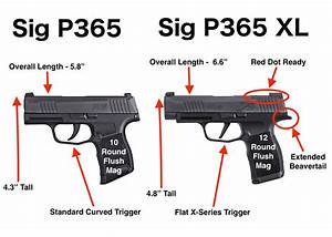 Sig P365 Xl Vs Sig P365  With Pictures