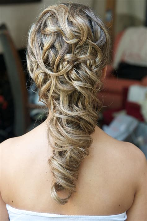 wedding hair styles  long hair wedding