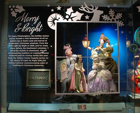 holiday windows  downtown pittsburgh history center blog
