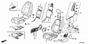30 Honda Odyssey Side Mirror Assembly Diagram