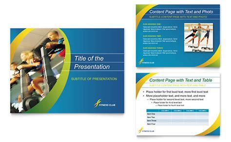 sports health club business card letterhead template