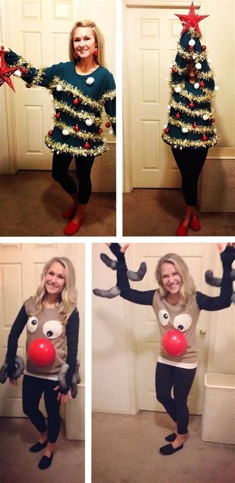 homemade ugly sweater ideas 187 5 ideas for a diy jumper