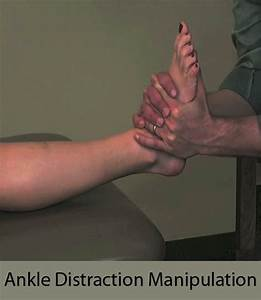 Ankle Distraction Manipulation