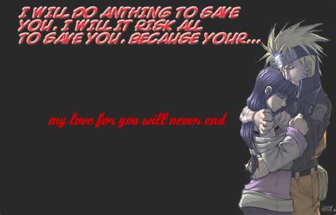 naruto love quotes quotesgram