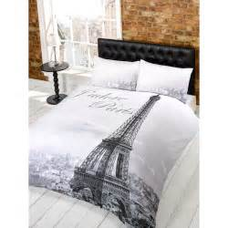 paris eiffel tower comforter set quotes