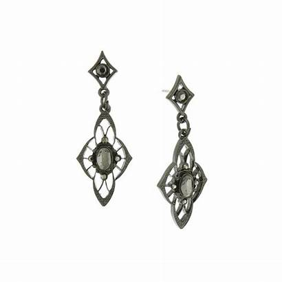 Downton Abbey Jewelry Lady Mary Line Earrings
