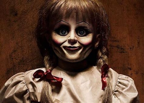 real annabelle doll didnt escape    locked