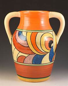Clarice Cliff SWIRLS LOTUS JUG C.1930