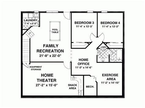 Home Design 1500 Sq Ft : 1500 Square Feet Open Floor Plans