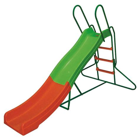 scivolo in plastica per giardino scivolo da giardino per bambini con struttura in acciaio