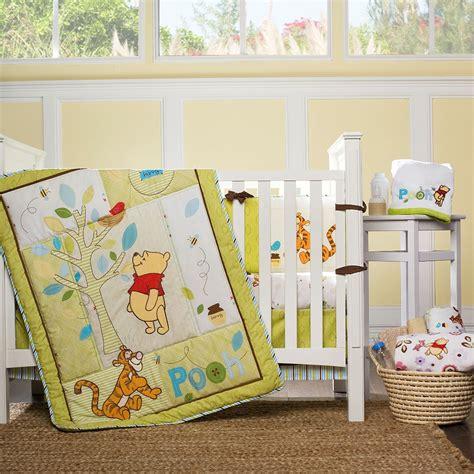 winnie the pooh crib set disney winnie the pooh retro 4 crib set